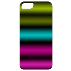 Dark Green Mint Blue Lilac Soft Gradient Apple Iphone 5 Classic Hardshell Case by designworld65