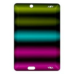 Dark Green Mint Blue Lilac Soft Gradient Amazon Kindle Fire Hd (2013) Hardshell Case by designworld65