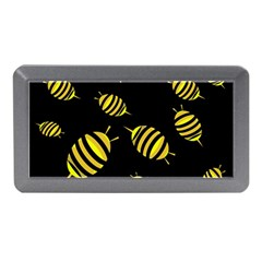 Decorative Bees Memory Card Reader (mini) by Valentinaart