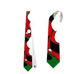 Did You See Rudolph? Neckties (two Side)  by Valentinaart