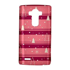 Pink Xmas Lg G4 Hardshell Case by Valentinaart