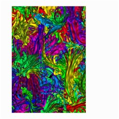 Hot Liquid Abstract A Small Garden Flag (Two Sides) by MoreColorsinLife