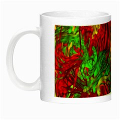 Hot Liquid Abstract C Night Luminous Mugs by MoreColorsinLife
