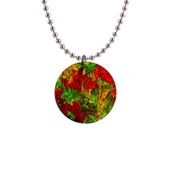 Hot Liquid Abstract C Button Necklaces by MoreColorsinLife