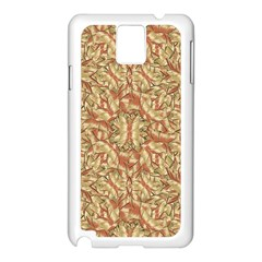 Geometric Bold Cubism Pattern Samsung Galaxy Note 3 N9005 Case (white) by dflcprints