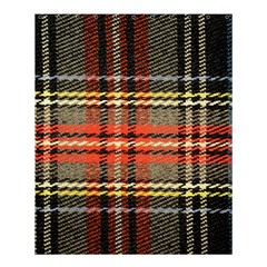 Fabric Texture Tartan Color  Shower Curtain 60  X 72  (medium)  by AnjaniArt