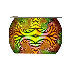 Fractals Ball About Abstract Cosmetic Bag (large)  by AnjaniArt