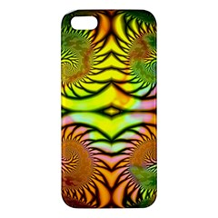 Fractals Ball About Abstract Apple Iphone 5 Premium Hardshell Case by AnjaniArt