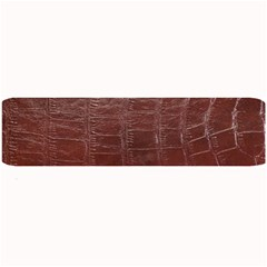 Leather Snake Skin Texture Large Bar Mats by AnjaniArt