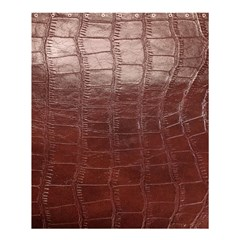 Leather Snake Skin Texture Shower Curtain 60  X 72  (medium)  by AnjaniArt