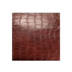 Leather Snake Skin Texture Satin Bandana Scarf by AnjaniArt