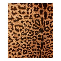 Leopard Print Animal Print Backdrop Shower Curtain 60  X 72  (medium)  by AnjaniArt