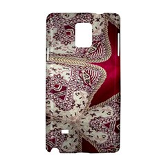 Morocco Motif Pattern Travel Samsung Galaxy Note 4 Hardshell Case by AnjaniArt