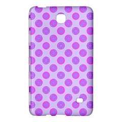Pastel Pink Mod Circles Samsung Galaxy Tab 4 (8 ) Hardshell Case  by BrightVibesDesign