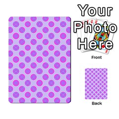 Pastel Pink Mod Circles Multi Purpose Cards (rectangle)  by BrightVibesDesign