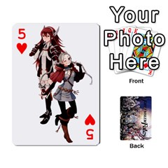 Fire Emblem Fates By Cheesedork   Playing Cards 54 Designs   8d5yqe76wikz   Www Artscow Com Front - Heart5