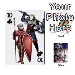 Fire Emblem Fates By Cheesedork   Playing Cards 54 Designs   8d5yqe76wikz   Www Artscow Com Front - Club10