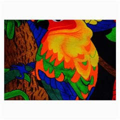 Parakeet Colorful Bird Animal Collage Prints by AnjaniArt