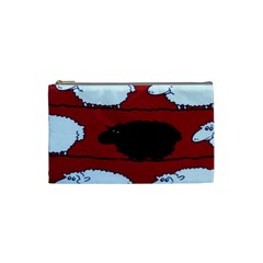 Sheep Pattern Cosmetic Bag (small)  by AnjaniArt