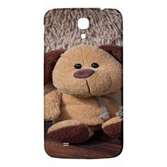 Stuffed Animal Fabric Dog Brown Samsung Galaxy Mega I9200 Hardshell Back Case by AnjaniArt