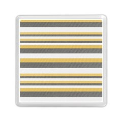 Textile Design Knit Tan White Memory Card Reader (square)  by AnjaniArt