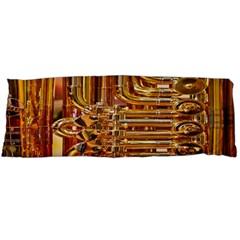 Tuba Valves Pipe Shiny Instrument Music Body Pillow Case Dakimakura (Two Sides) by AnjaniArt