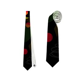 Magical Night  Neckties (two Side)  by Valentinaart