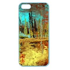 Autumn Landscape Impressionistic Design Apple Seamless Iphone 5 Case (color) by theunrulyartist