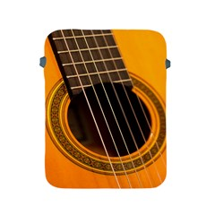 Vintage Guitar Acustic Apple Ipad 2/3/4 Protective Soft Cases by AnjaniArt
