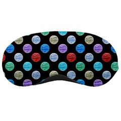 Death Star Polka Dots In Multicolour Sleeping Masks by fashionnarwhal