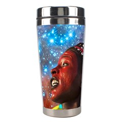 African Star Dreamer Stainless Steel Travel Tumblers by icarusismartdesigns