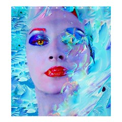 Swimming Into The Blue Shower Curtain 66  X 72  (large)  by icarusismartdesigns