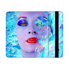 Swimming Into The Blue Samsung Galaxy Tab Pro 8 4  Flip Case by icarusismartdesigns