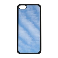 Wavy Clouds Apple Iphone 5c Seamless Case (black) by GiftsbyNature