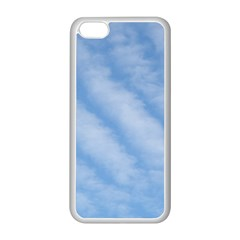 Wavy Clouds Apple Iphone 5c Seamless Case (white) by GiftsbyNature