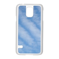 Wavy Clouds Samsung Galaxy S5 Case (white) by GiftsbyNature