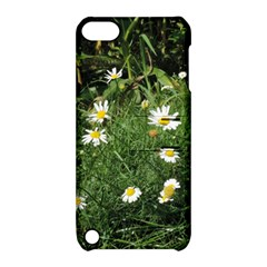 White Daisy Flowers Apple Ipod Touch 5 Hardshell Case With Stand by picsaspassion