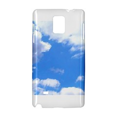 Clouds And Blue Sky Samsung Galaxy Note 4 Hardshell Case by picsaspassion
