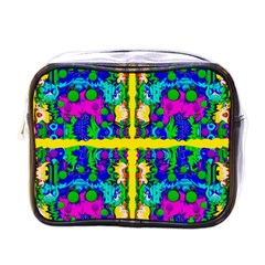 Shimmering Landscape Abstracte Mini Toiletries Bags by pepitasart