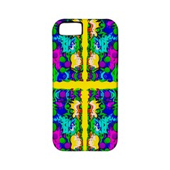 Shimmering Landscape Abstracte Apple Iphone 5 Classic Hardshell Case (pc+silicone) by pepitasart