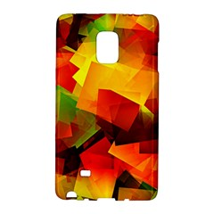 Indian Summer Cubes Galaxy Note Edge by designworld65