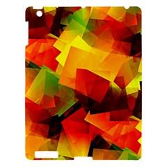 Indian Summer Cubes Apple Ipad 3/4 Hardshell Case by designworld65