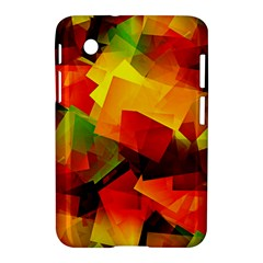 Indian Summer Cubes Samsung Galaxy Tab 2 (7 ) P3100 Hardshell Case  by designworld65