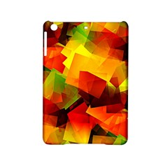 Indian Summer Cubes Ipad Mini 2 Hardshell Cases by designworld65