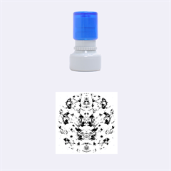 Freedom In Colors And Floral Rubber Round Stamps (small) by pepitasart