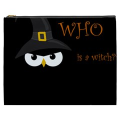 Who Is A Witch? Cosmetic Bag (xxxl)  by Valentinaart