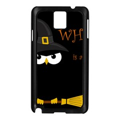 Who Is A Witch? Samsung Galaxy Note 3 N9005 Case (black) by Valentinaart