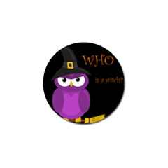 Who Is A Witch?   Purple Golf Ball Marker (10 Pack) by Valentinaart