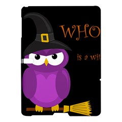 Who Is A Witch?   Purple Samsung Galaxy Tab S (10 5 ) Hardshell Case  by Valentinaart