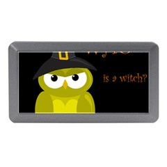 Who Is A Witch?   Yellow Memory Card Reader (mini) by Valentinaart